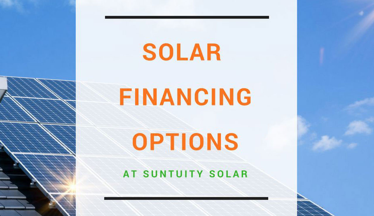 Financing for home solar systems in New Jersey