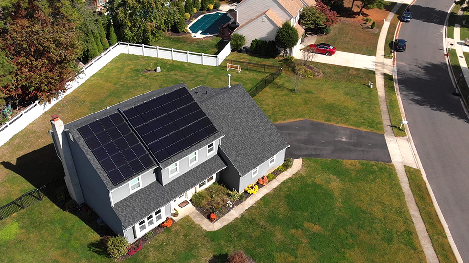 New Jersey Home Solar Installation for Petrus E.